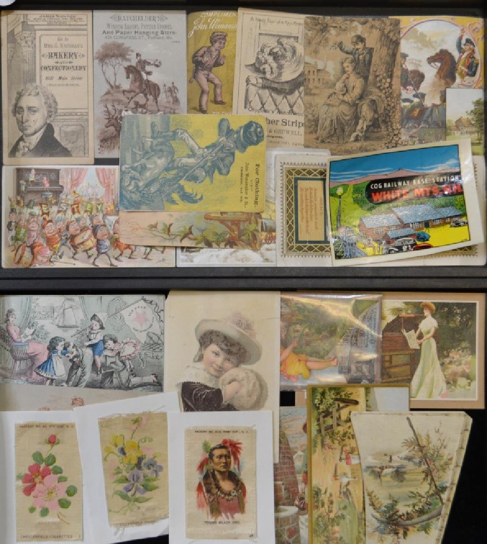 Advertising Trade Cards
