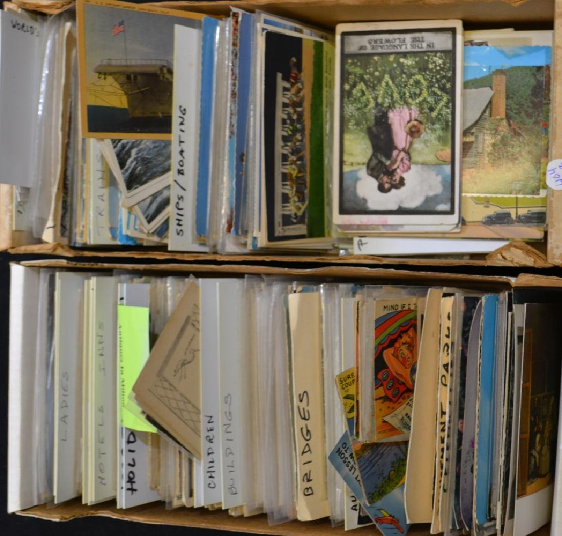 Large Postcard Collection