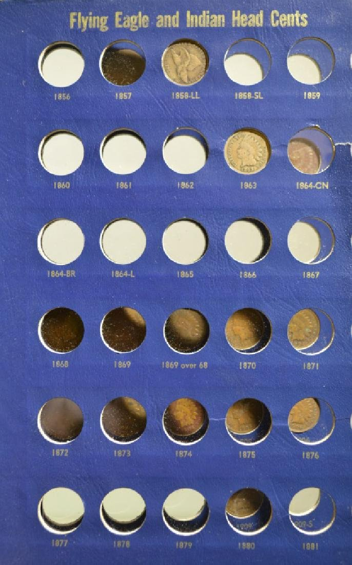 Indian Head Cents Collection