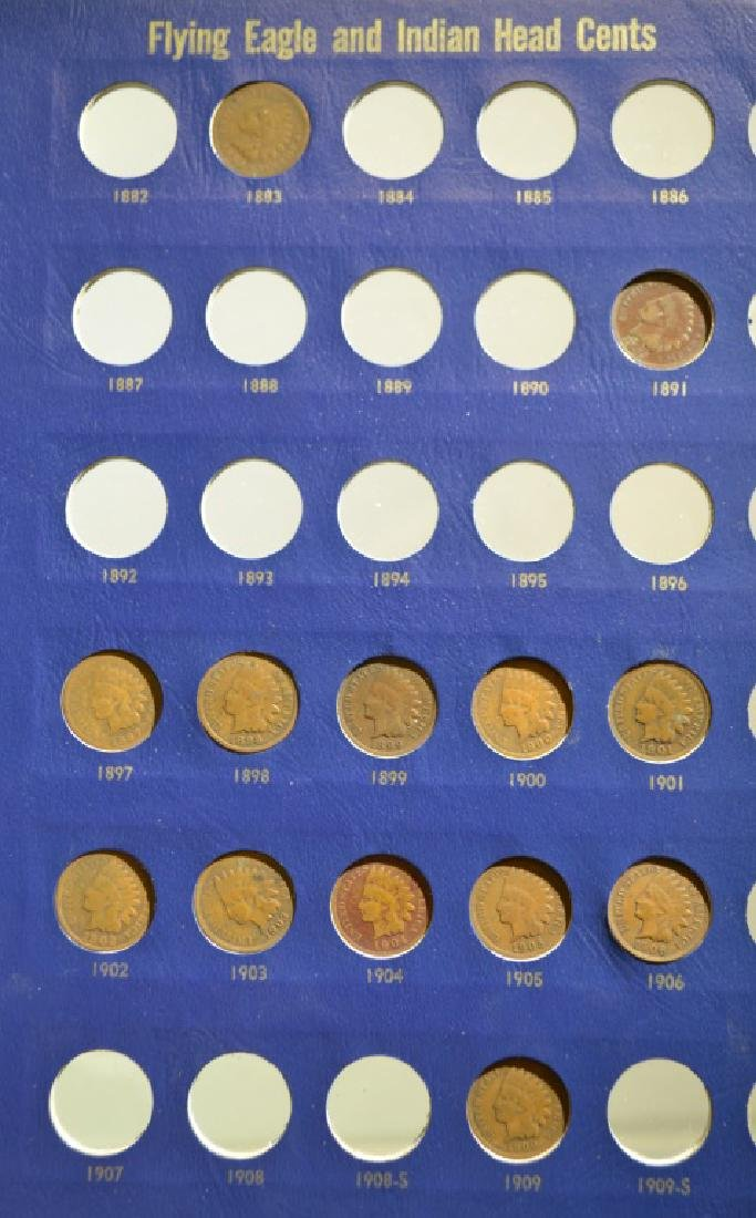 Indian Head Cents Collection - 2