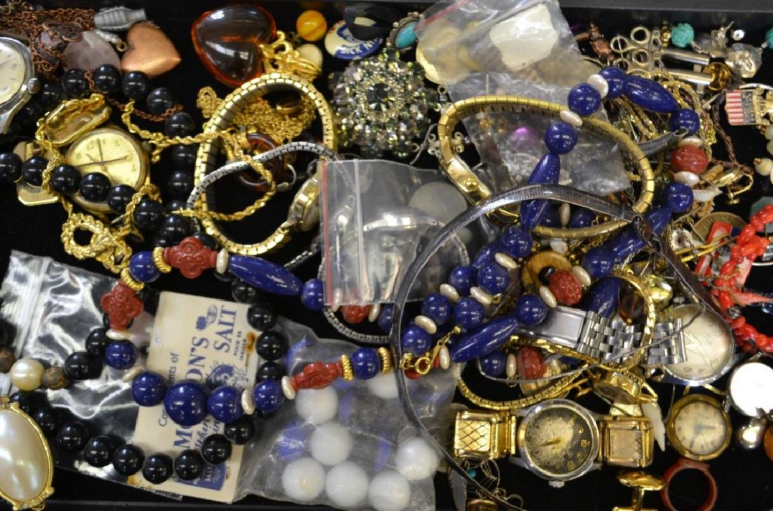 Watch and Costume Jewelry Grouping