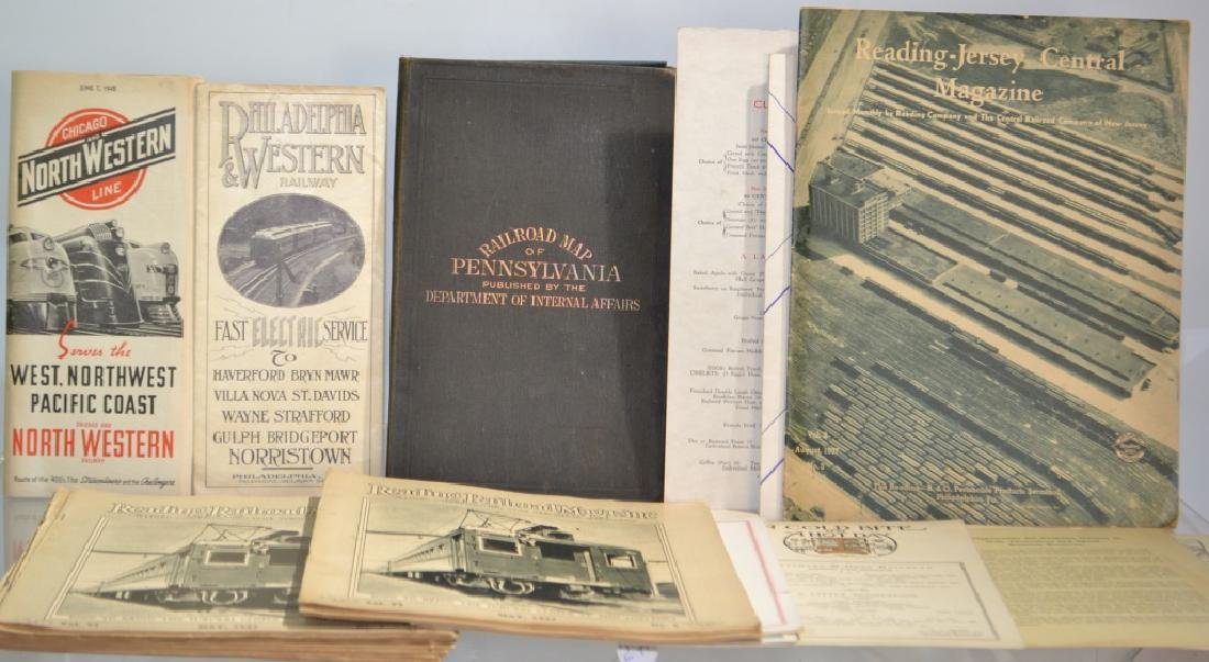 Railroad Ephemera Grouping