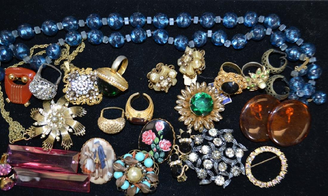 Quality Costume Jewelry Grouping