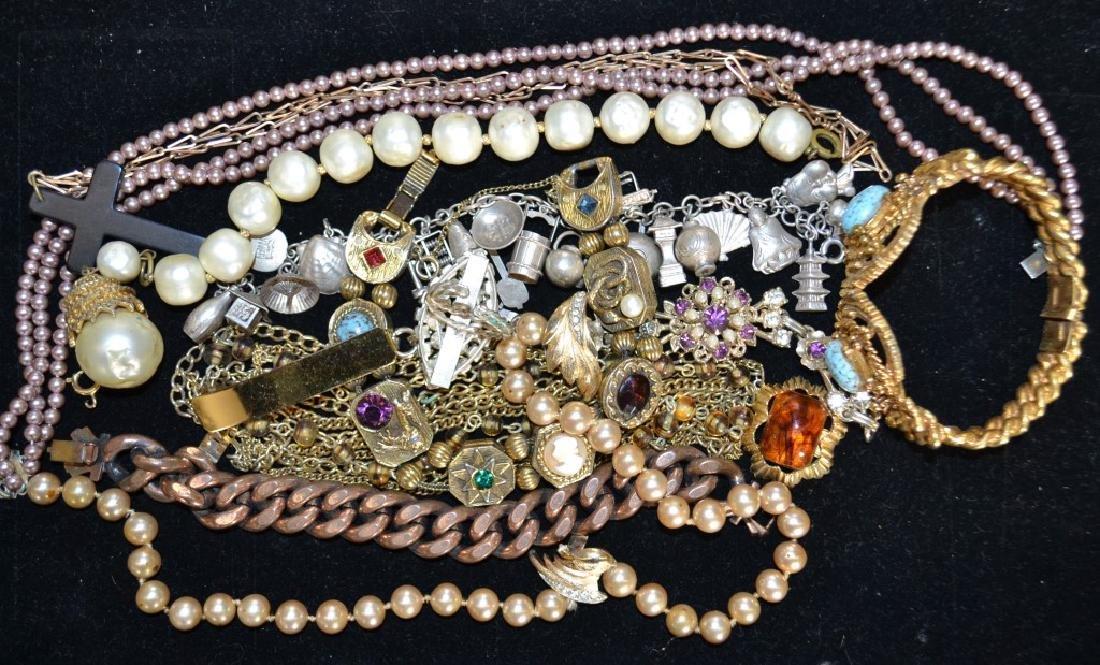 Costume Jewelry Grouping