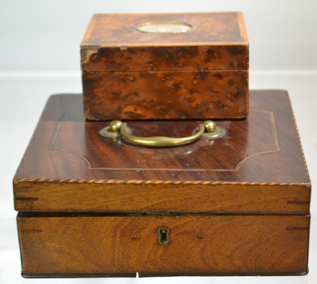 Pair of 19th Century Boxes