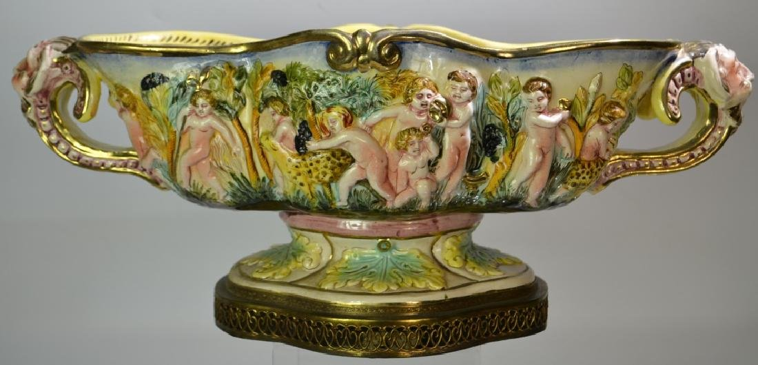 A 1940's Capodimonte Center Bowl