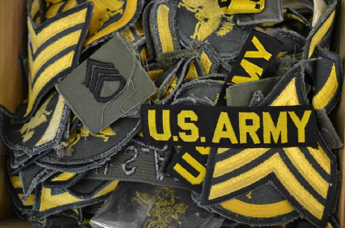 Grouping of US Army Patches