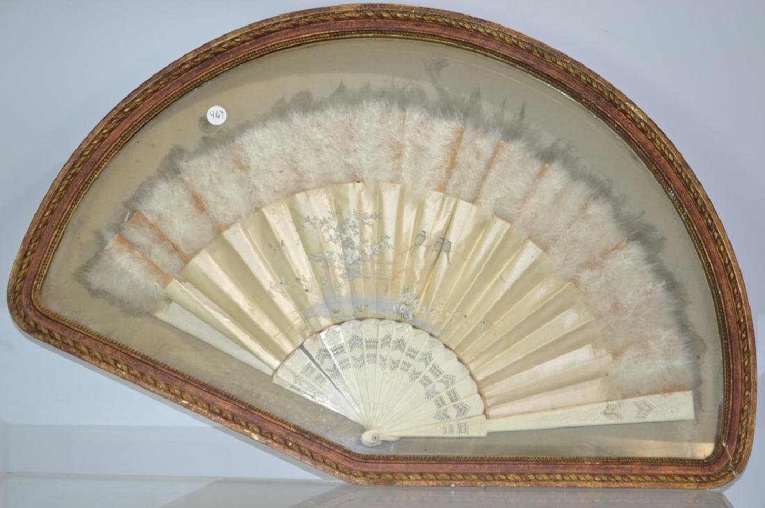 Victorian Fan in Frame