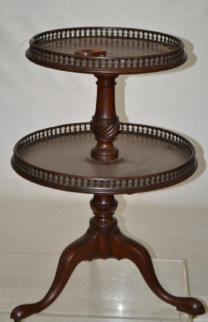Mahogany Tier Table