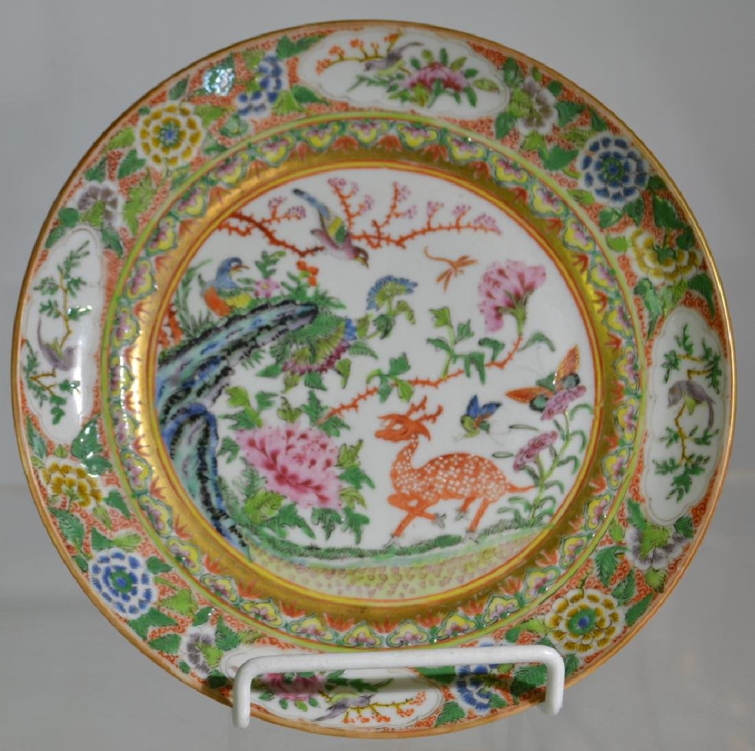 2 Early 19th Century Chinese Export Plates - 2