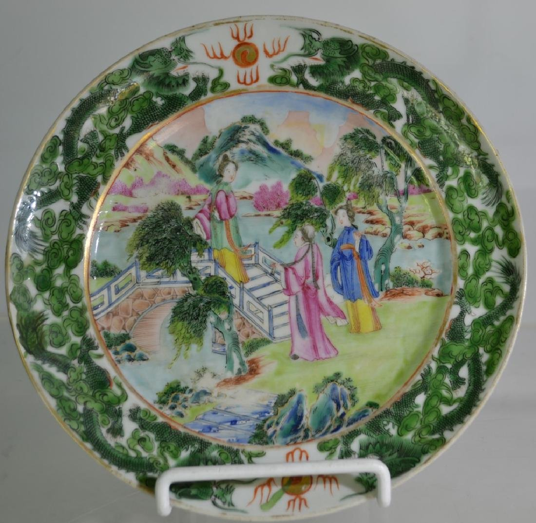 2 Early 19th Century Chinese Export Plates - 3