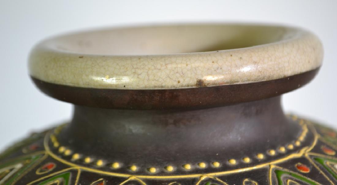 Early 20th Century Satsuma Vase - 3