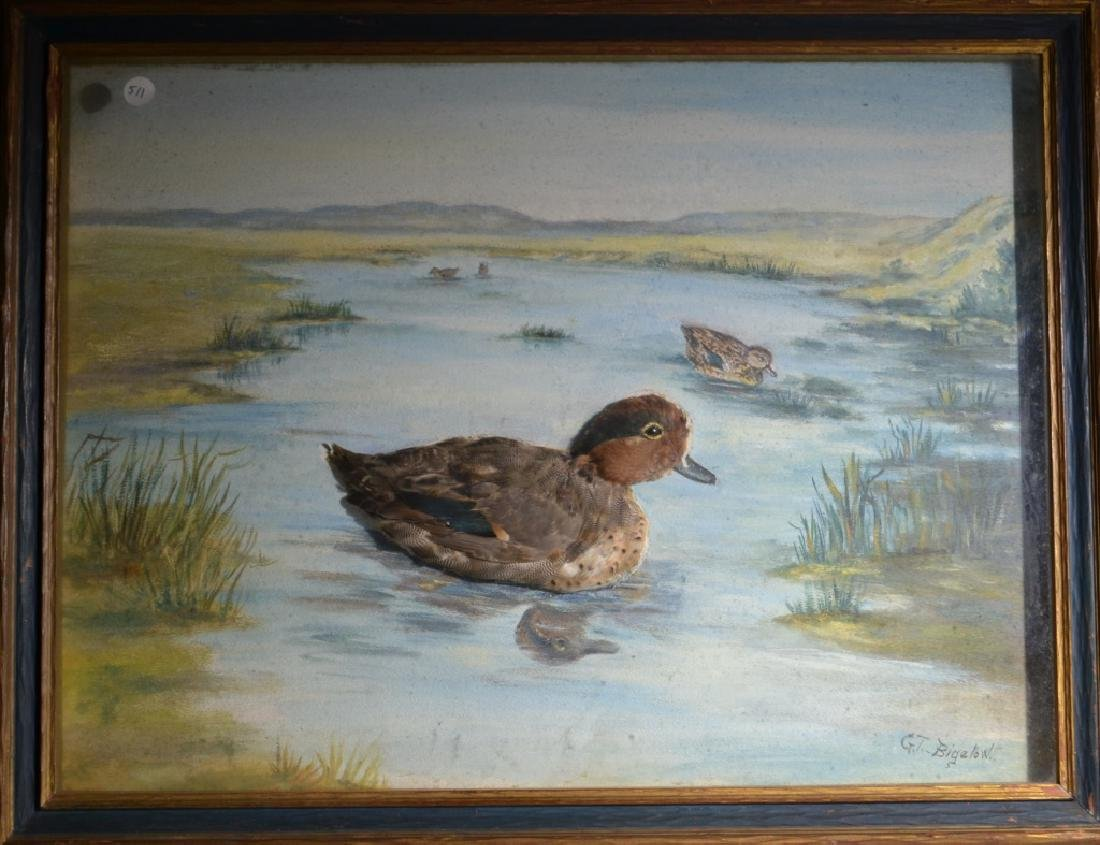3 Dimensional Duck Painting