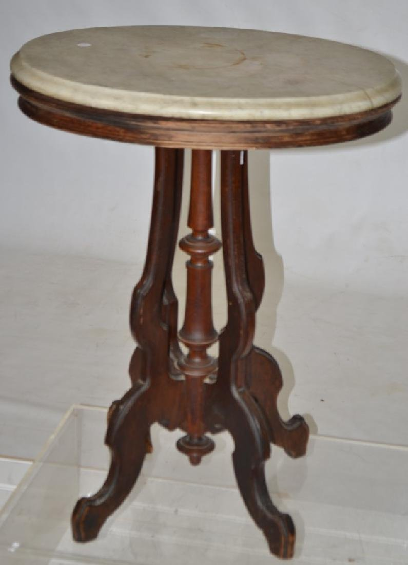 Marble Top Stand - 2