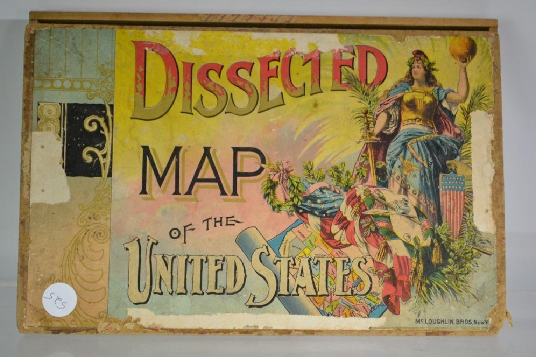 Dissected Maps of the United States