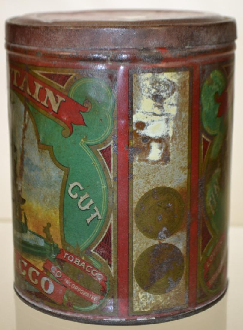 19th Century Fountain Tobacco Tin - 2