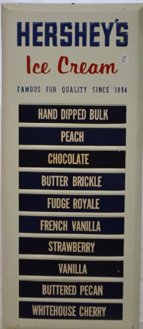 Hershey's Ice Cream Store Menu Board - 2