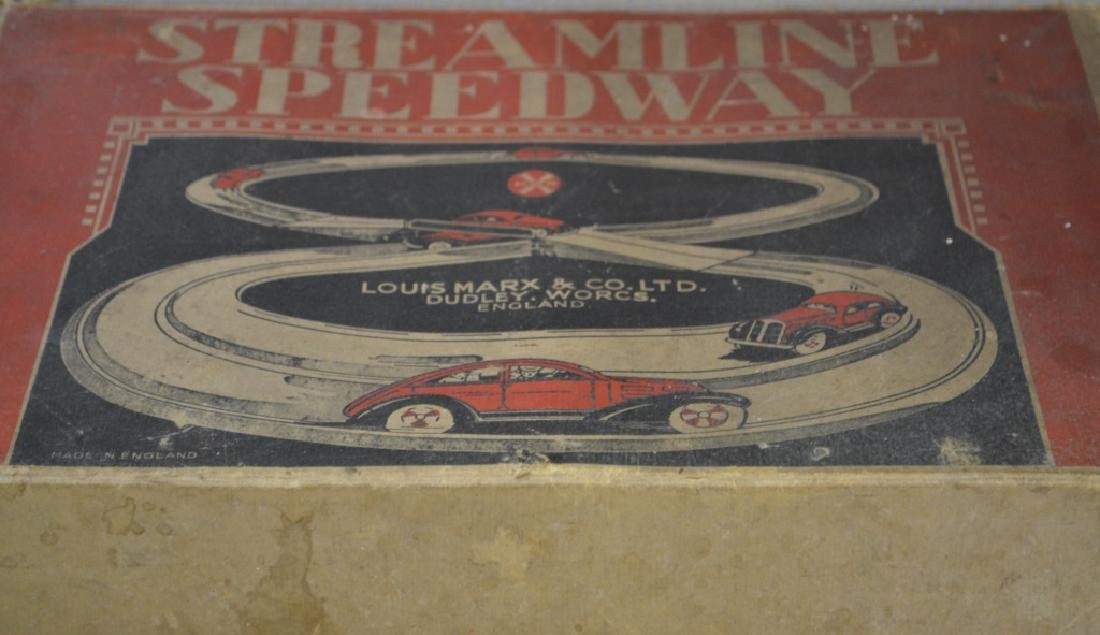Louis Marx Streamline Speedway