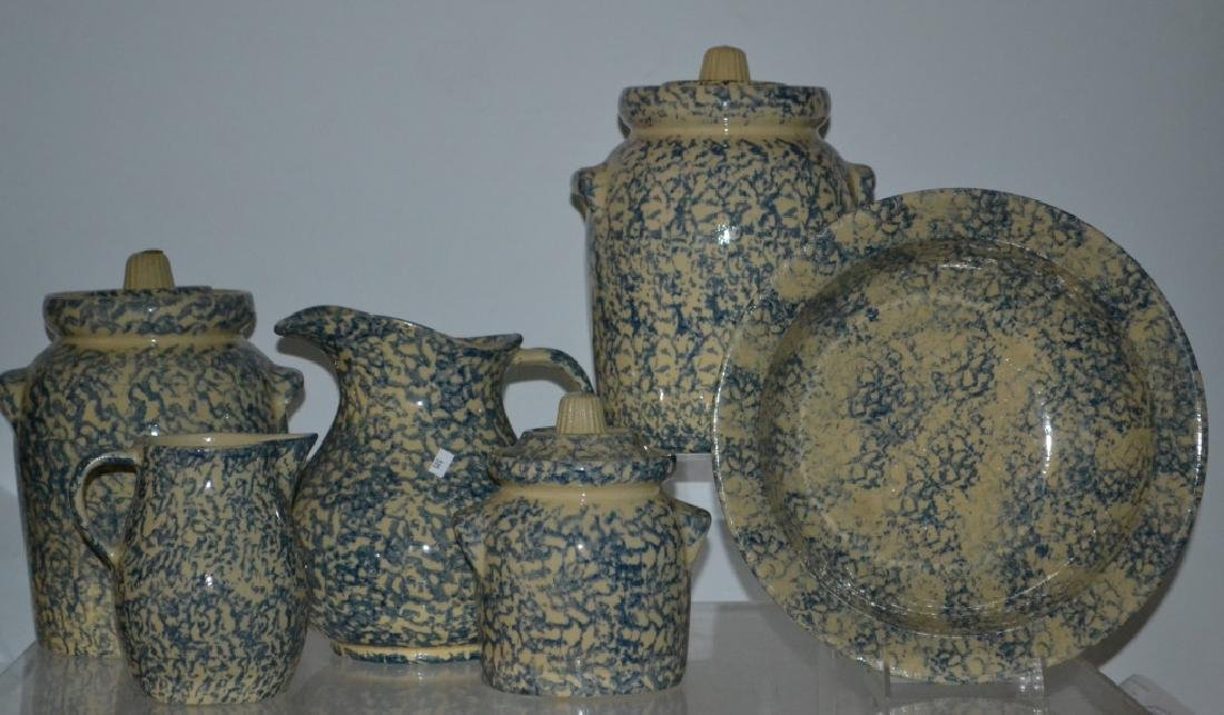 Robinson Rams Bottom Sponge Decorated Canisters