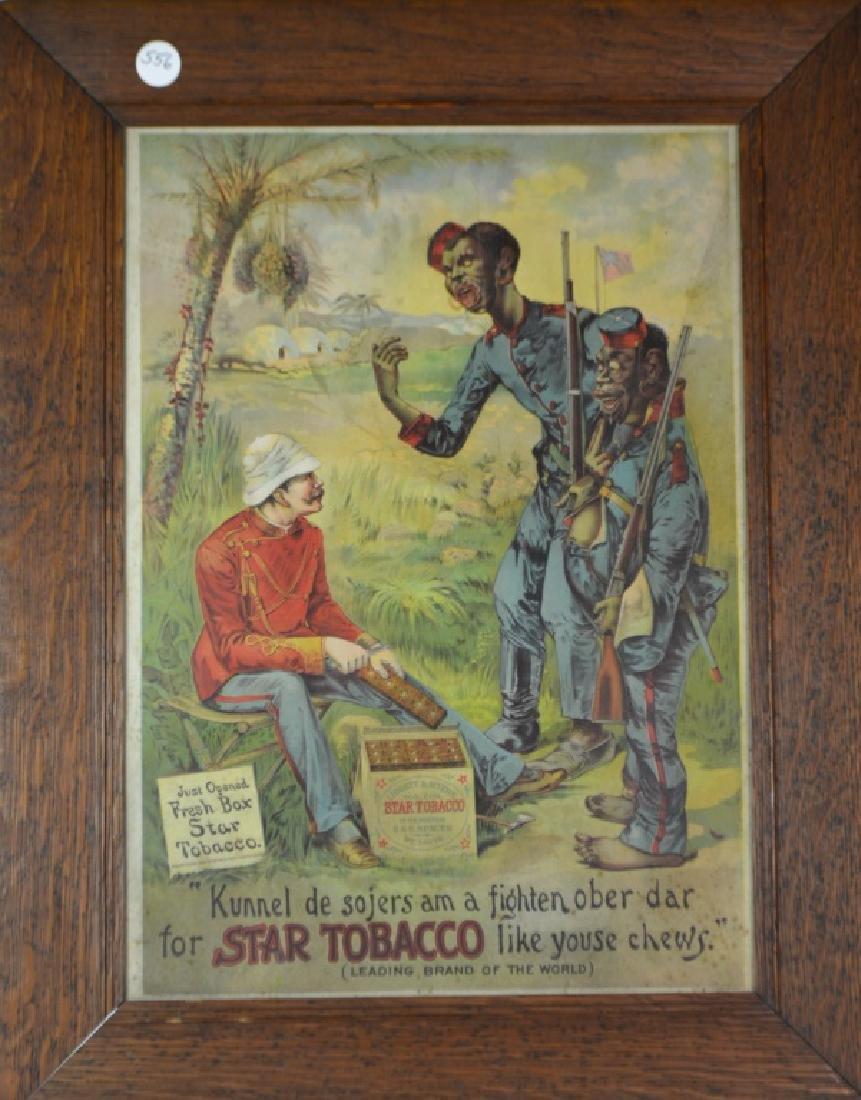 Star Tobacco, AD, 1894