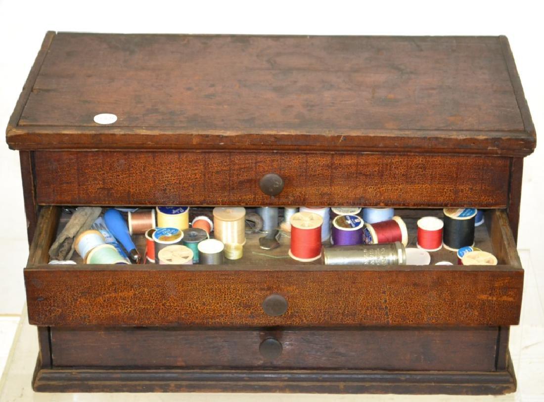 4 Drawer Spool Cabinet - 2