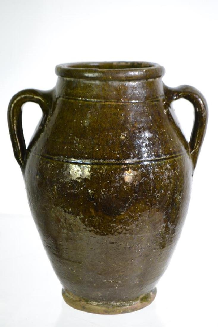 19th Century Redware Vessel