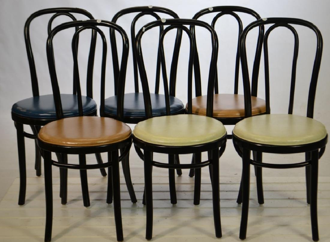 Set of 6 Ice Cream Parlor Chairs