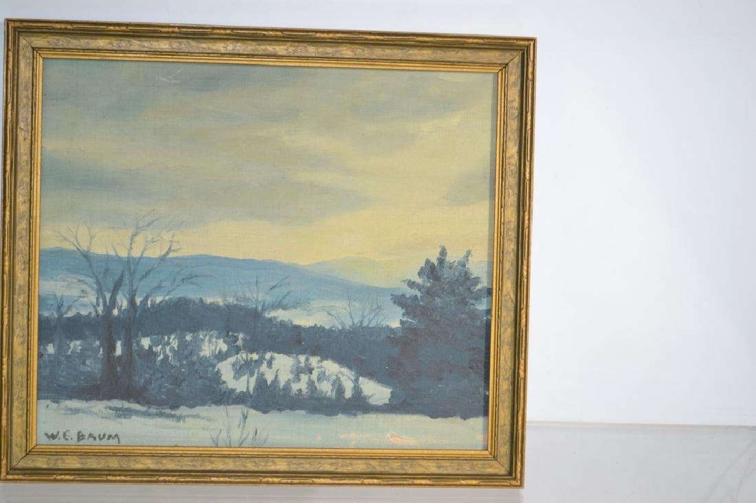 Oil on Board by Walter Emerson. Baum