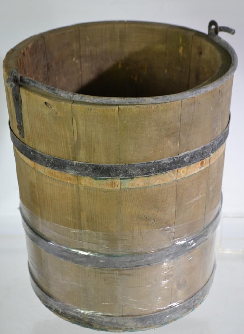 Wooden Bucket - 2