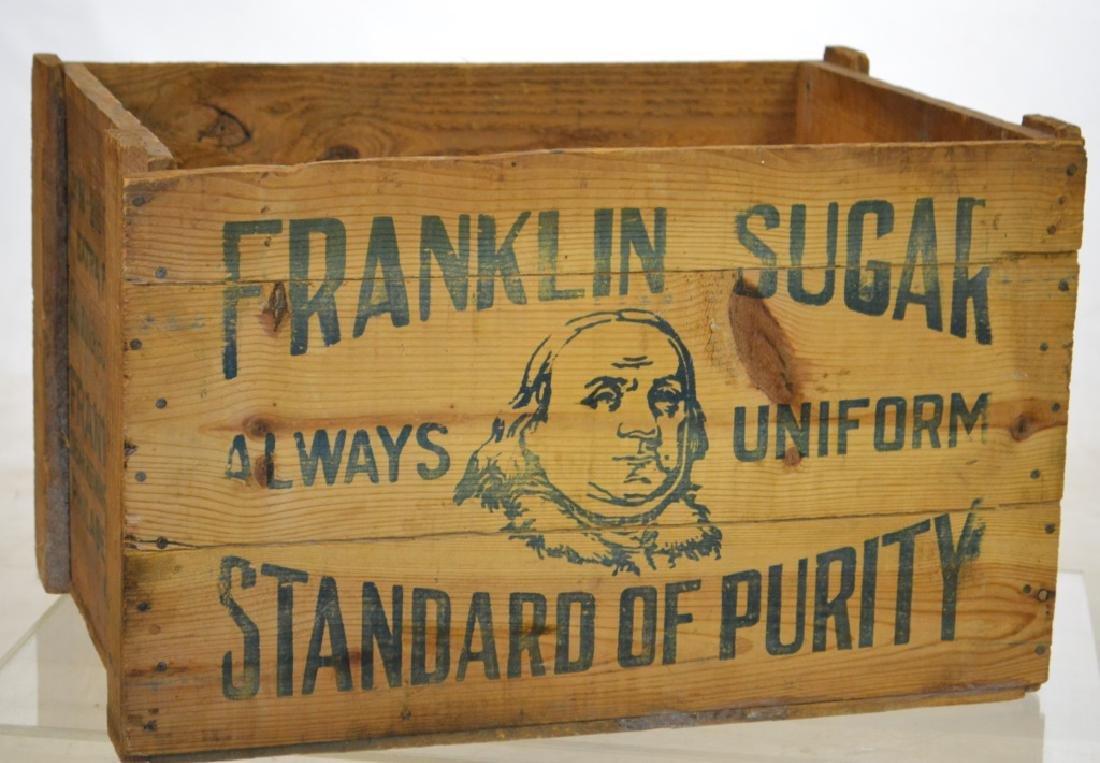 Franklin Sugar Crate