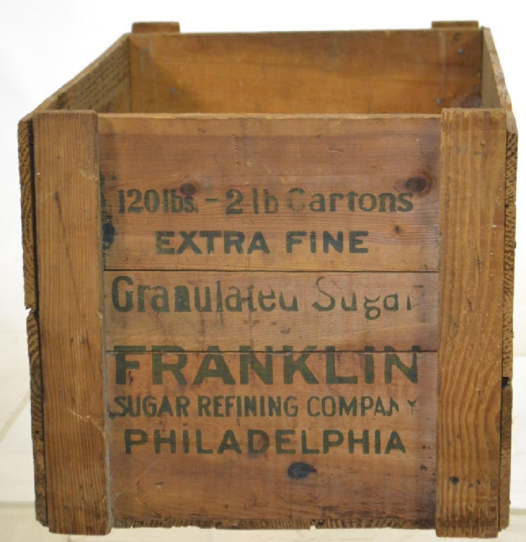 Franklin Sugar Crate - 2
