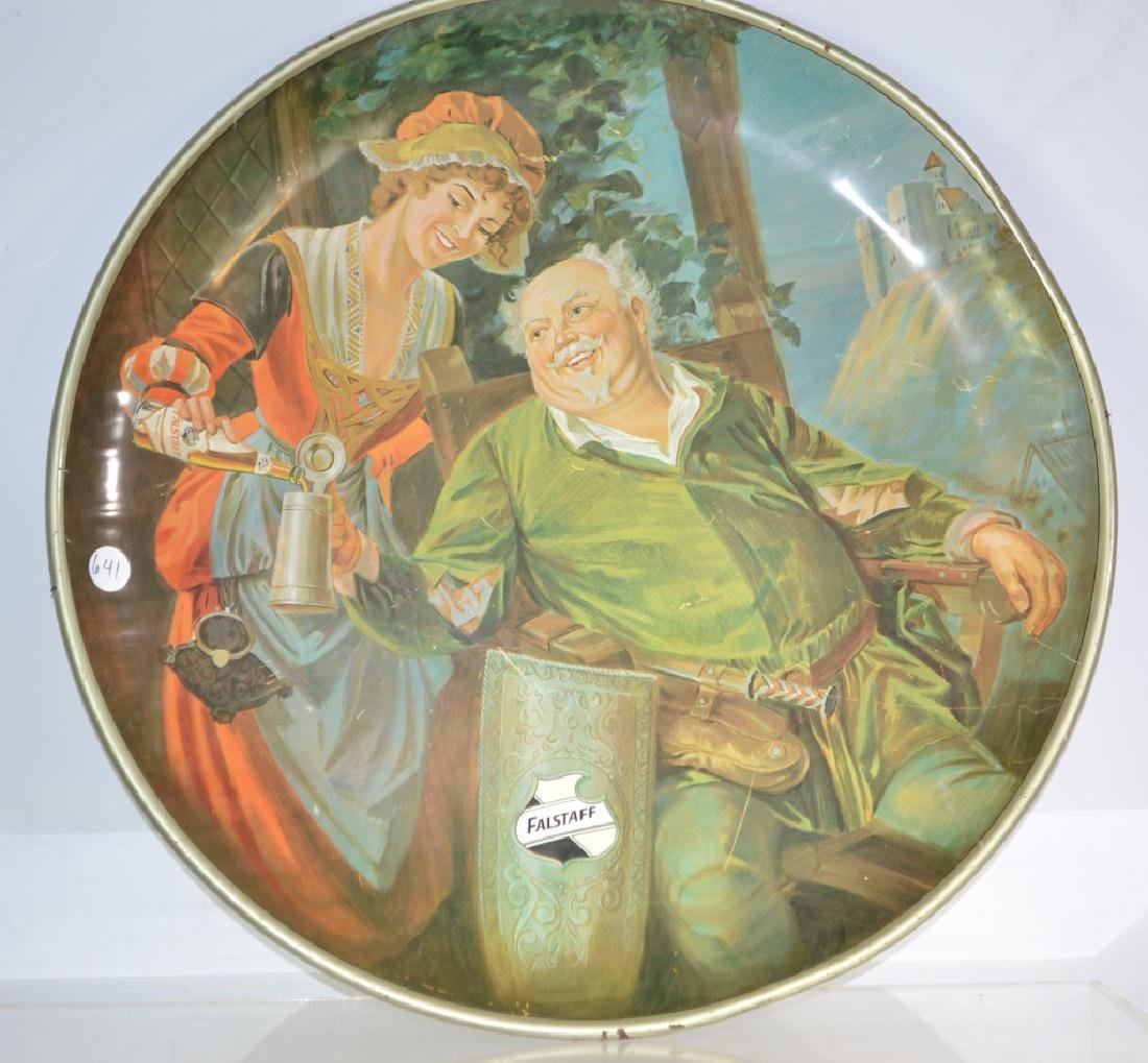 Massive Falstaff Beer Tray