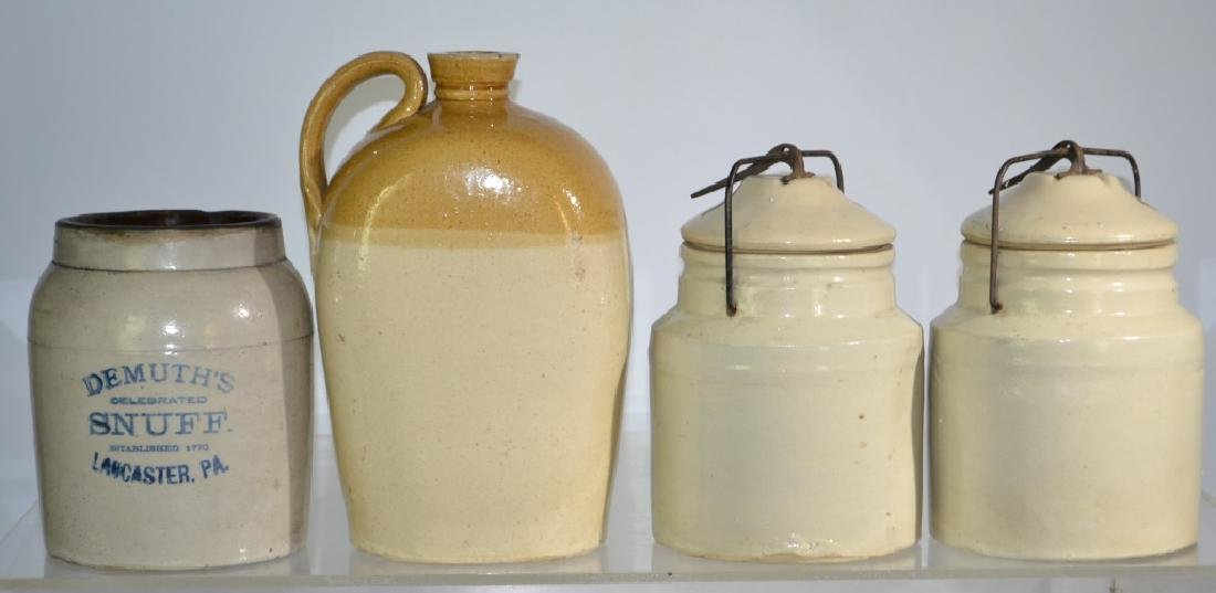 4 Piece Stoneware Grouping