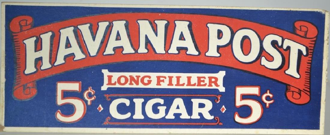 Havana Post 5 Cent Cigar Ad