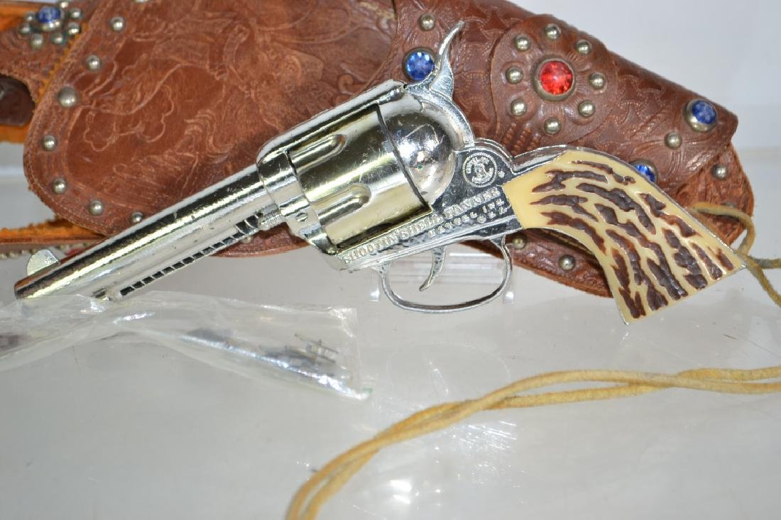 Mattel Fanner Toy Pistol and Holster