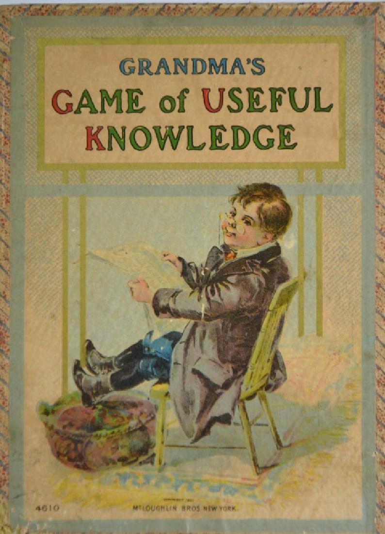 Game of Knowledge Dated 1901
