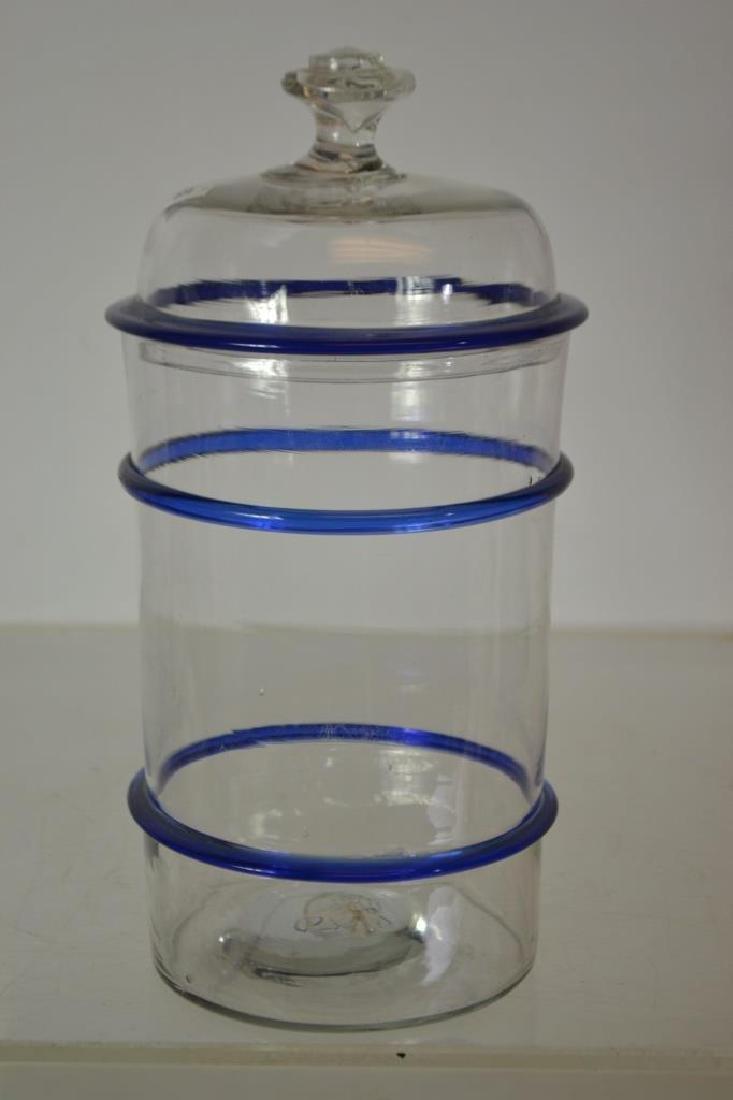Hand Blown Leech Jar