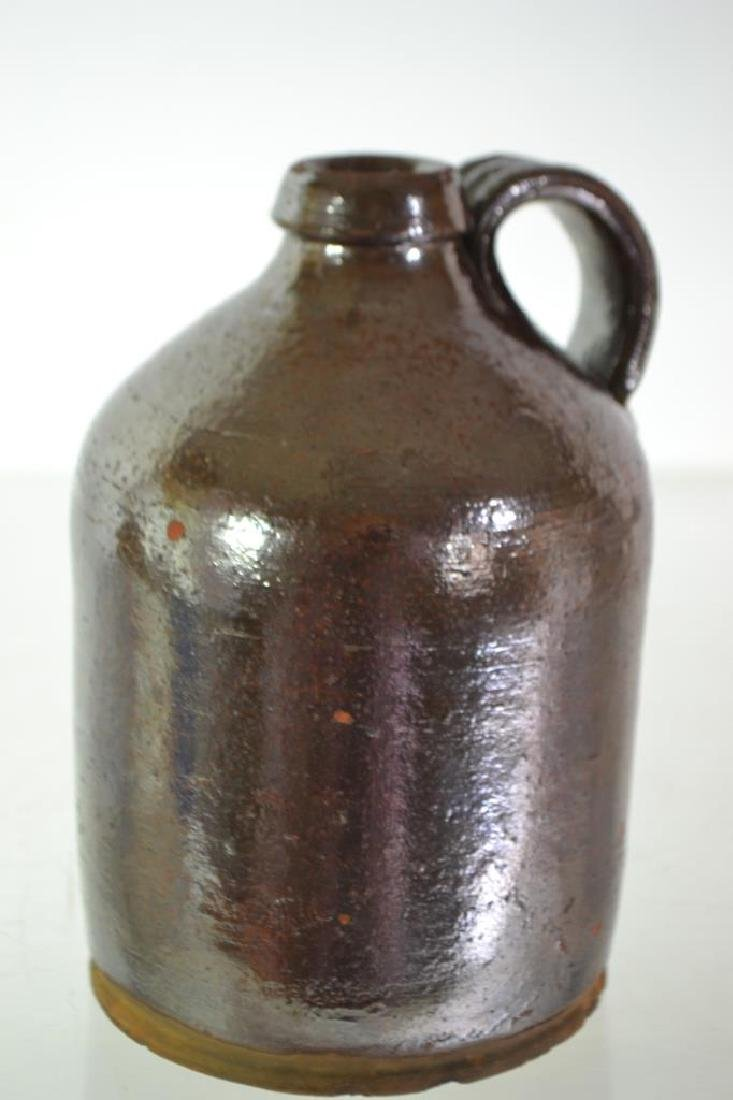 Salt Glazed Redware Jug