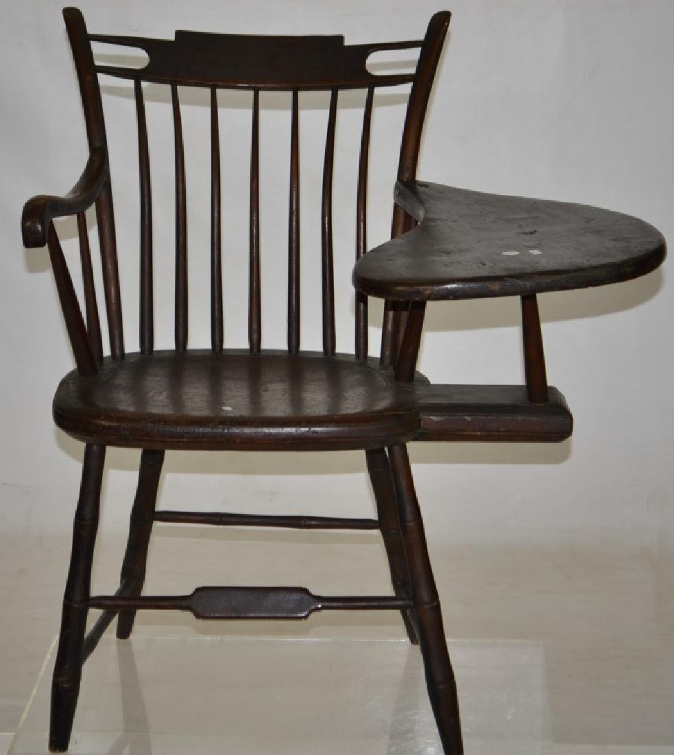 19th Century Windsor Chair with Desk