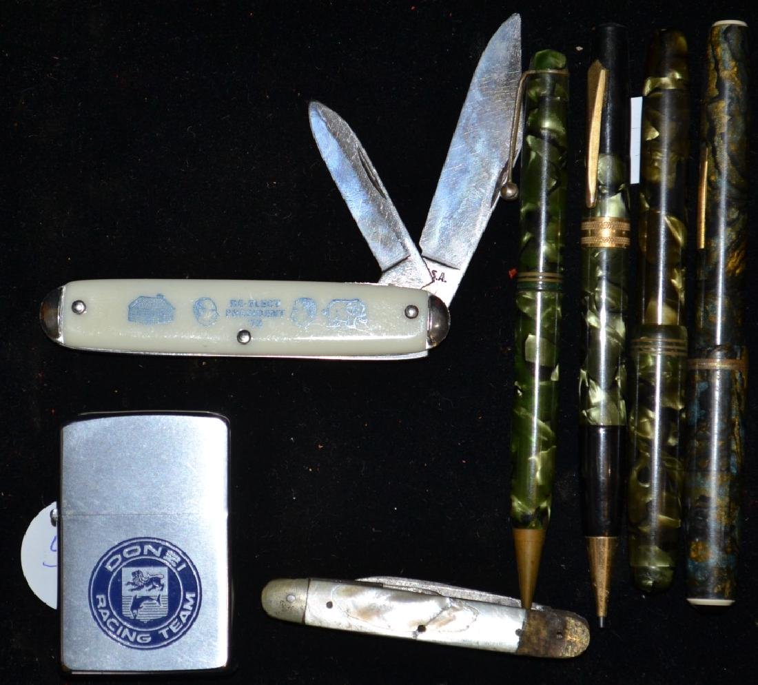 Vintage Pen and Pocket Knife Grouping