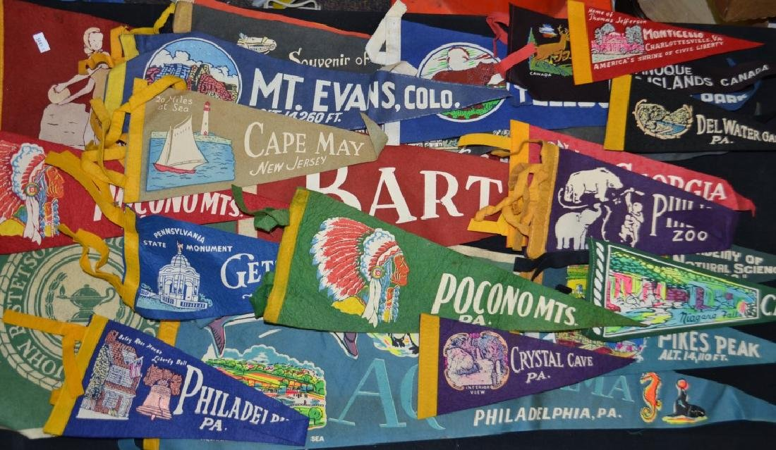 Vintage Pennant Grouping