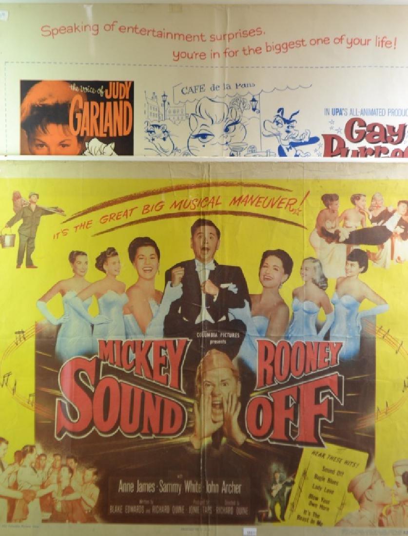 2 Vintage Movie Posters