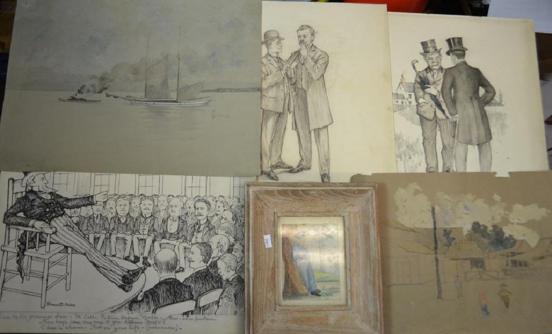 Six Works of E.B. Nolan