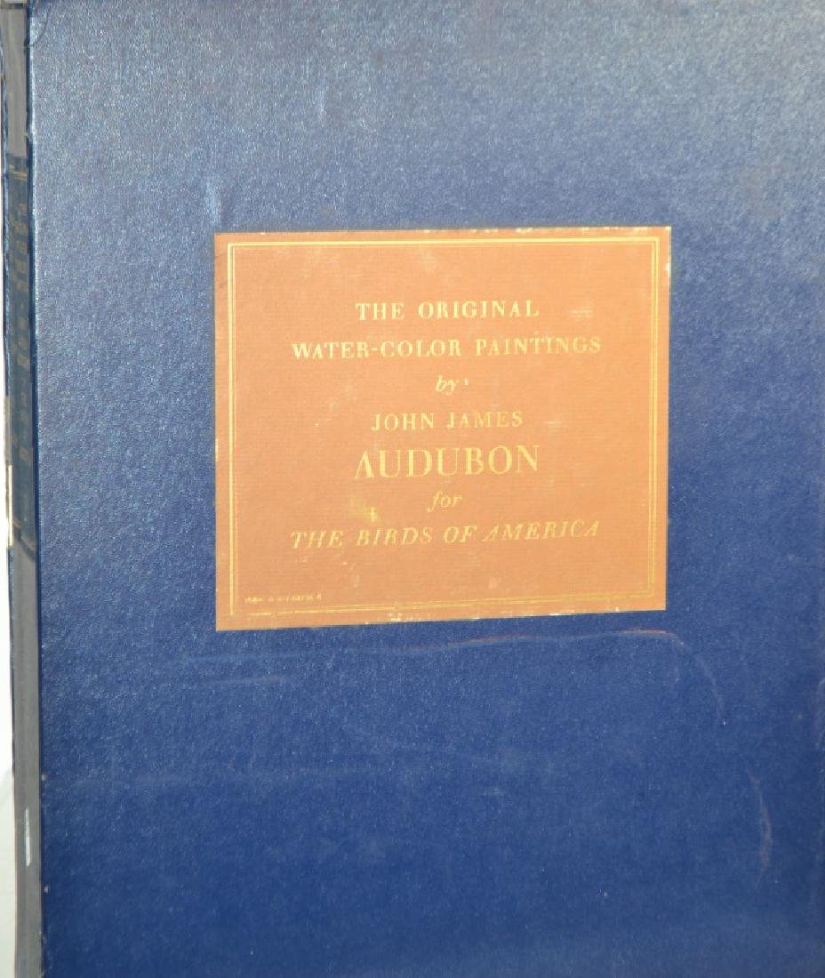 Two Volume Audubon Book Set