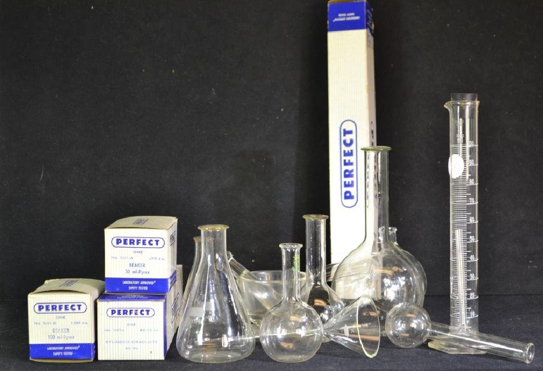 Grouping of Medical Beakers