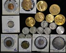 Grouping of American Coin and Tokens