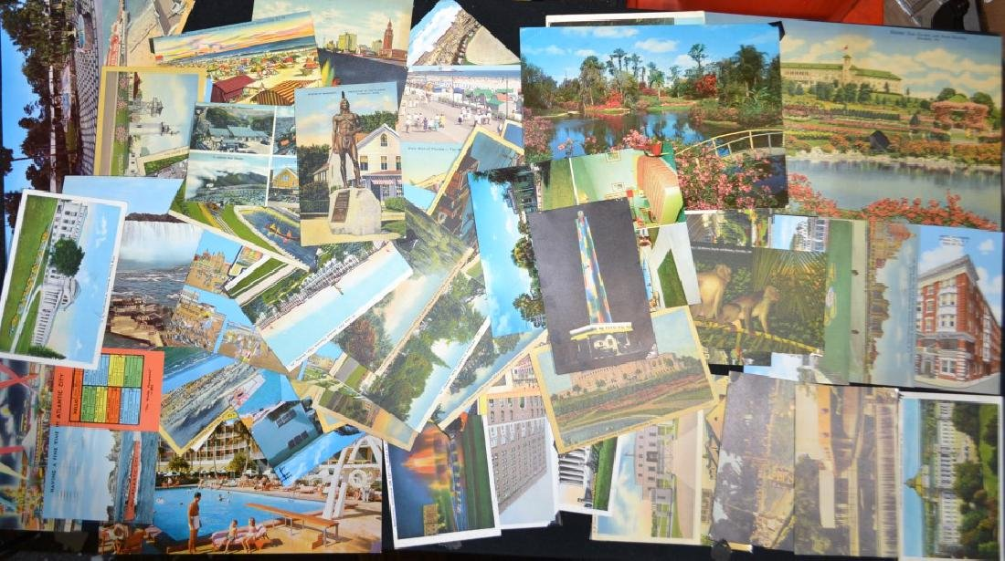 Grouping of Mid Century Postcards