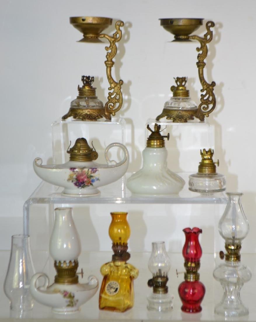 Miniature Oil Lamp Collection