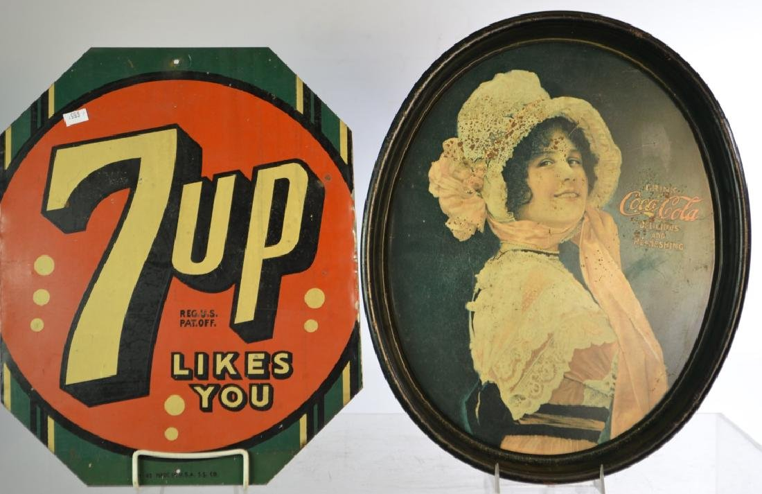 Coca Cola and 7-Up Advertising Grouping