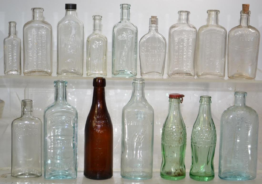 Vintage Advertising Bottle Collection